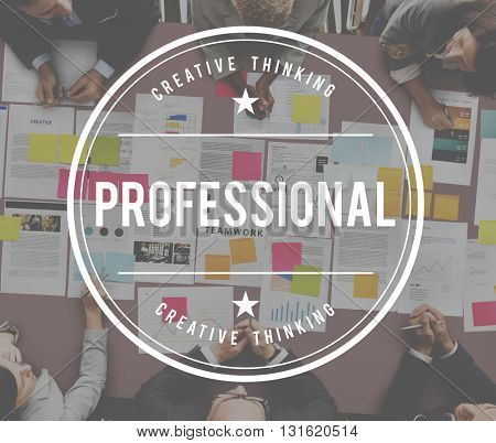 Professional Business Career Connection Design Concept