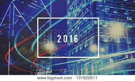 Year 2016 Possibilities Chances Changes Concept