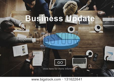 Business Update Strategy Vision Planning Development Concept