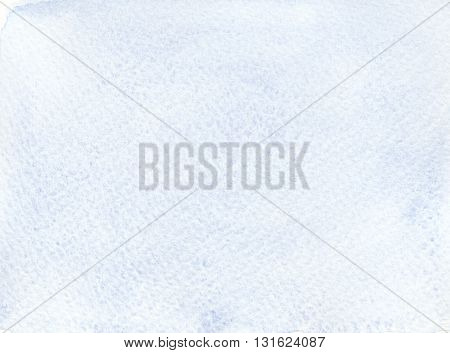 simple flat blue faded watercolor abstract background