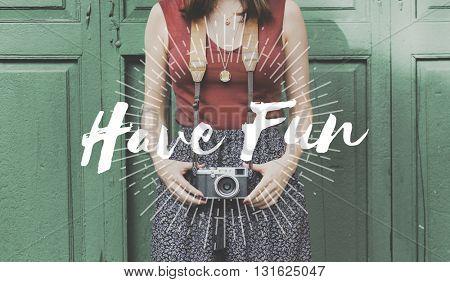 Holidays Fun Ideas Leisure Enjoyment Concept