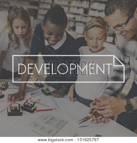 Growth Development Success Improvement Vision Concept