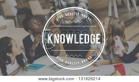 Knowledge College Education Insight Power Concept
