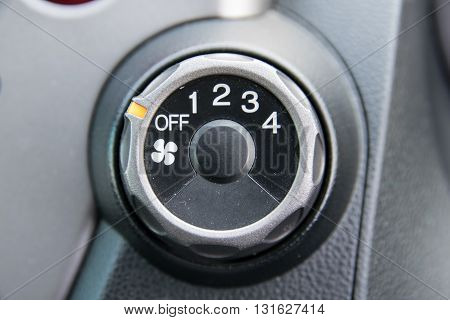 car air conditioner switch. car, air, closeup, cooling, cold,