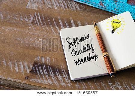Handwritten Text Software Quality Workshop