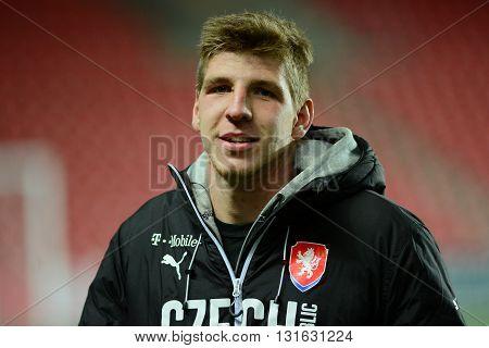 PRAGUE 31/03/2015 _ Ladislav Takács. Friendly match Czech Reublic U21 - Portugal U21