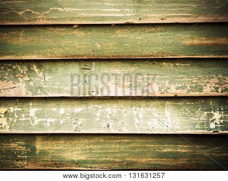 Old retro panel wood background Horizontal line