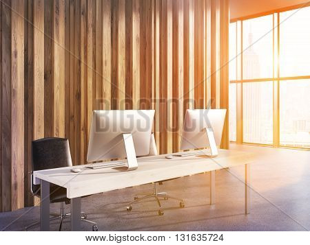 Toned Office Image