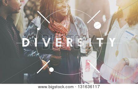 Diversity Race Ethnicity Variation Diverse Mixture Concept