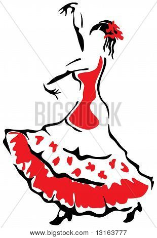 Flamenco Dancer.