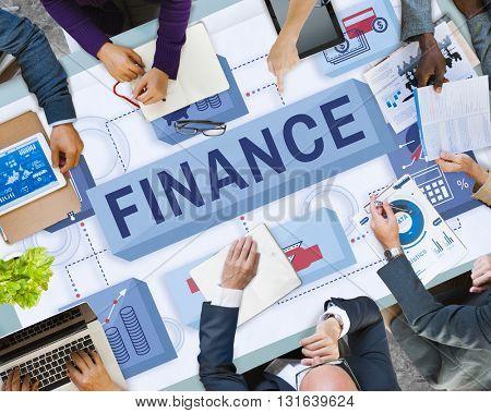 Finance Money Management Graphics Concept