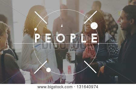 People Population Company Cooperation Person Concept