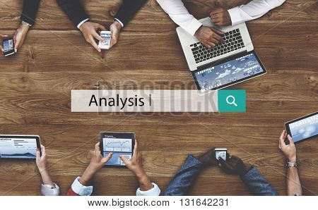Analysis Data Information Insight Process Concept
