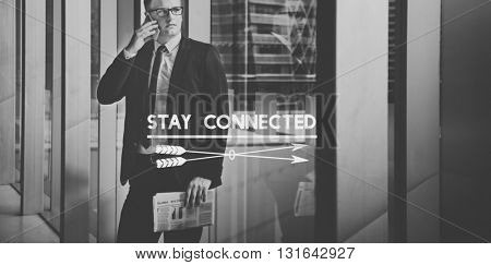 Business People Work Graphic Concept