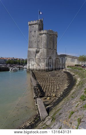 Port of La Rochelle in Charente-Maritime France