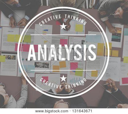 Analysis Data Information Insight Plan Process Concept