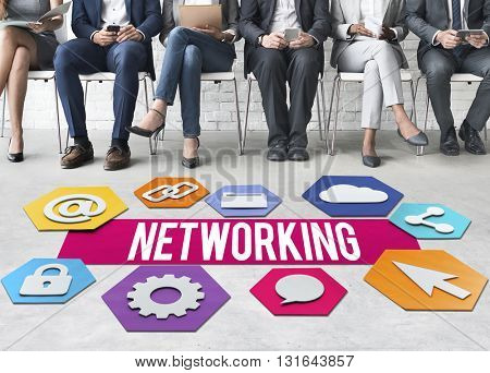 Networking Online Technology Graphic Concept