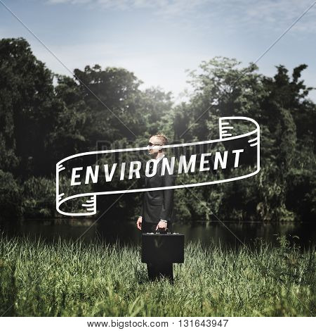 Go Green Business Environment Conservation Environmentalist Concept
