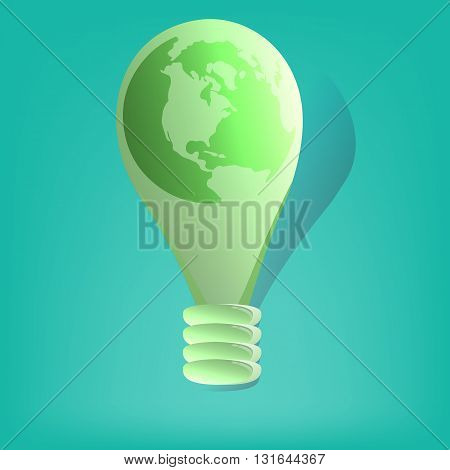 World environment day vector card, poster. World environment day on blur background. World environment day vector typography.
