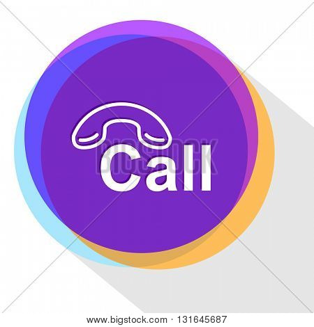 hotline. Vector icon.