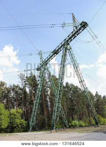 High-voltage Power Line, Transmission Tower