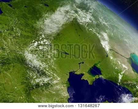 Ukraine From Space