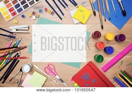 Stationery And Drawing Tools Top