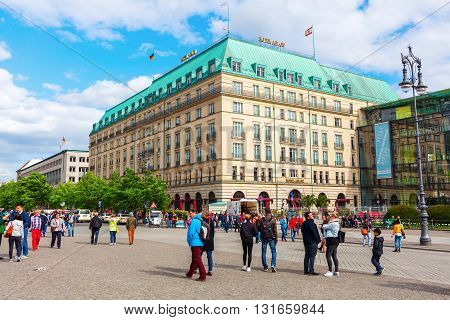Hotel Adlon Kempinsky In Berlin, Germany