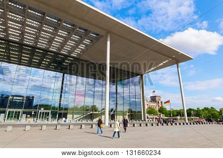 Paul-loebe-haus, Part Of The German Bundestag, In Berlin, Germany