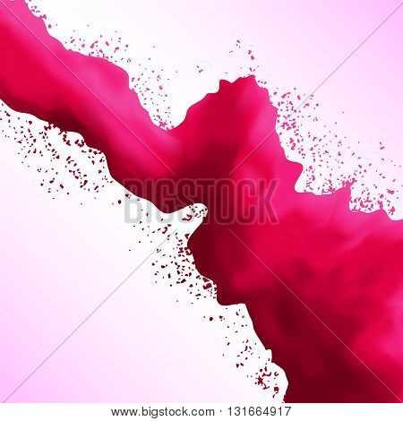Holi. Background for card, banner, web design, poster. Abstract banner. Vector isolated on white background. Abstract background. Design background.