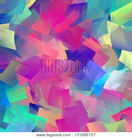 Abstract coloring horizon background with visual effect