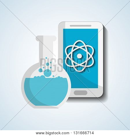 Science concept with icon design, vector illustration 10 eps graphic.