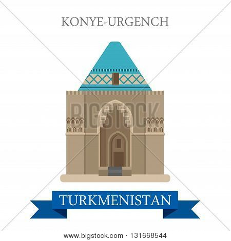 Konye-Urgench in Turkmenistan attraction travel landmark