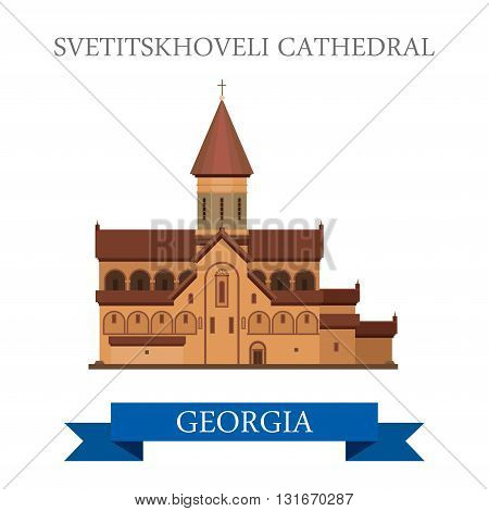 Svetitskhoveli Cathedral Georgia attraction travel sightseeing