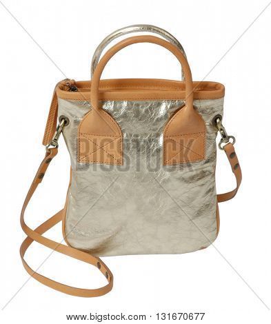 fashion bag isolated on white background