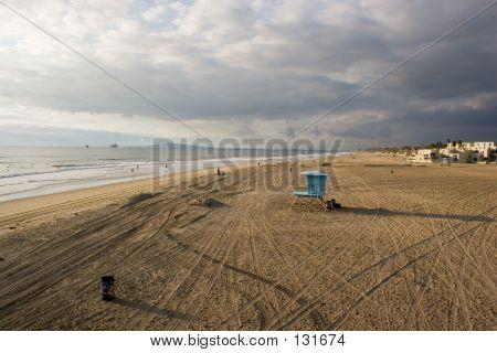 Scenic Tourist Beach