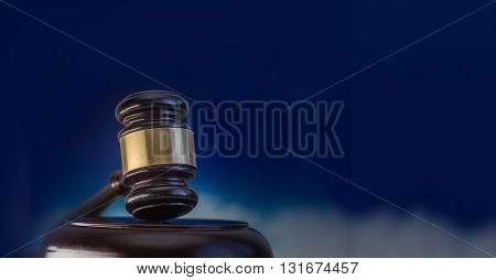 Legal law or auction concept image - ideal for banner use