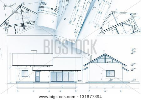 Architectural Blueprints And House Plan