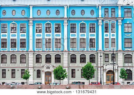 Nakhimov Naval School Facade