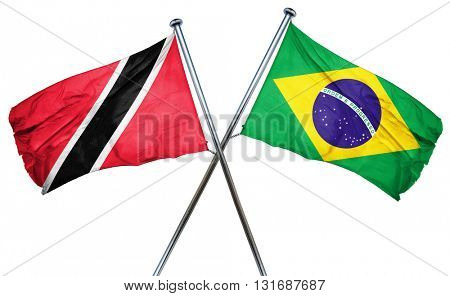 Trinidad and tobago flag  combined with brazil flag