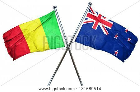 Mali flag  combined with new zealand flag