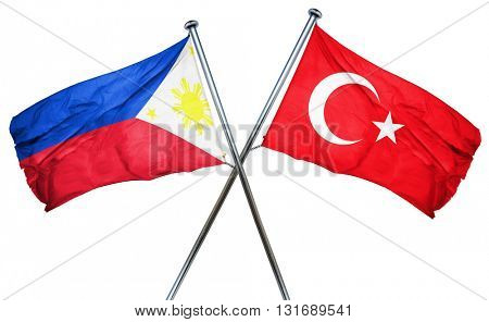 Philippines flag  combined with turkey flag