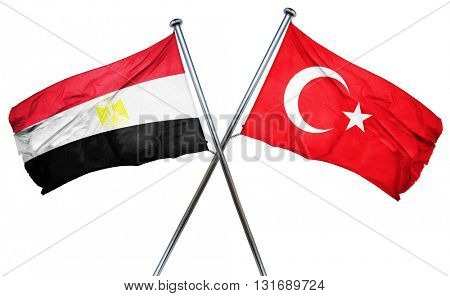 Egypt flag  combined with turkey flag