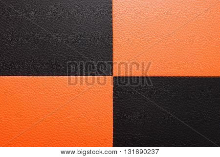 leather texture background. The leather texture background. pattern background or texture