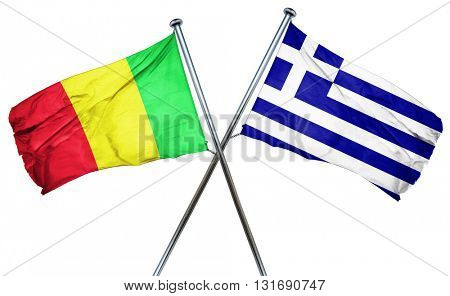 Mali flag  combined with greek flag