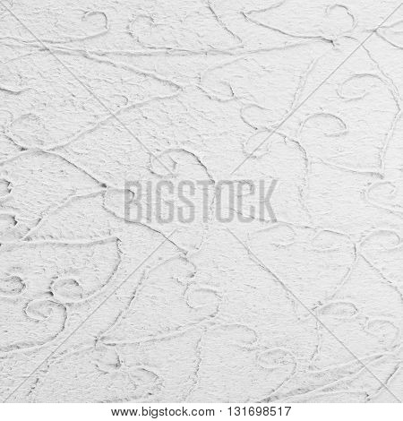 White paper with decorative pattern for background
