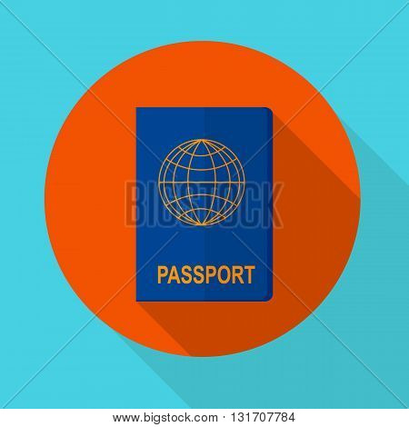 vector illustration international of passport for travel