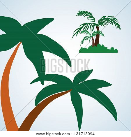 Tree concept with icon design, vector illustration 10 eps graphic.