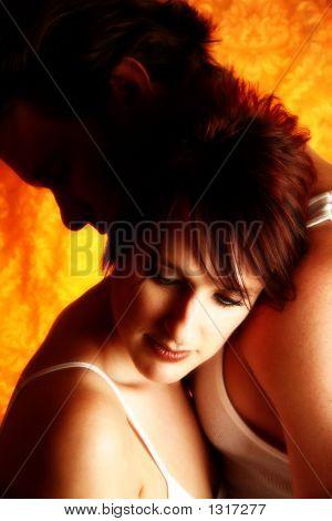 Couple Embrace