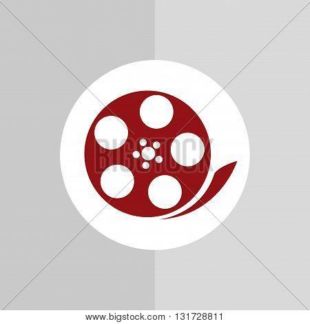 Film concept with cinema icon design, vector illustration 10 eps graphic.